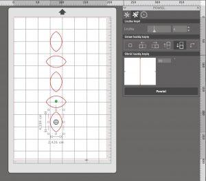 Powielanie kształtów w Silhouette Studio