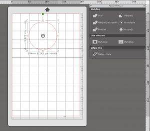 Funkcja scal w Silhouette Studio