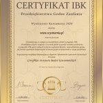 Certyfikat konsumenta wycinarnia