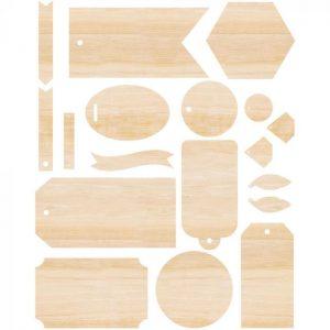 zestaw drewienek Singe Quill