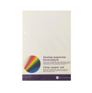 Zestaw papierów kolorowych
