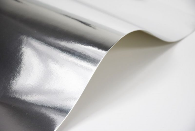 Papier lustrzany srebrny
