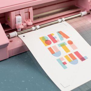 Tkanina do druku Silhouette