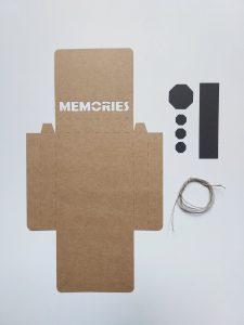 Pudełko na zdjęcia wzór
