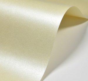 Papier perłowy kremowy