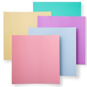 papier do etykiet cricut kolory