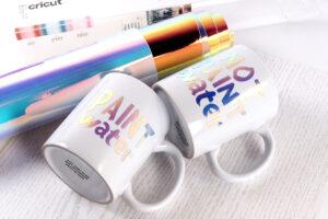 holgraficzny kubek